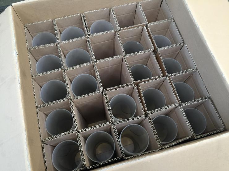doos op maat voor de glazen kelken