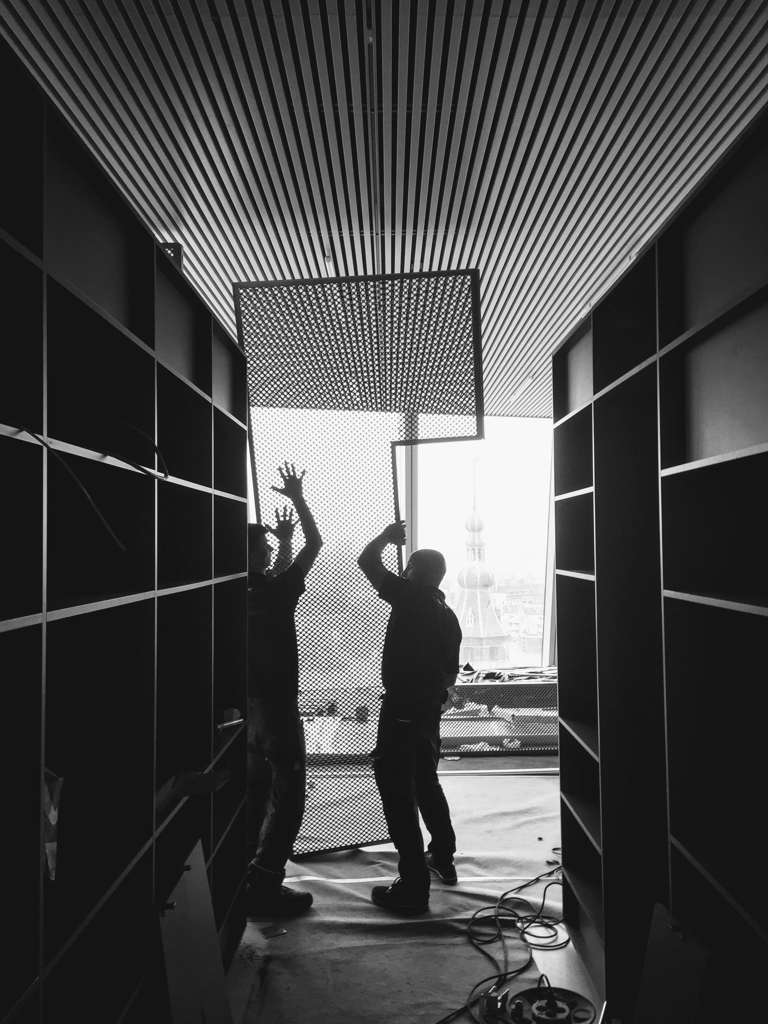 bouw interieur Groninger Forum 12 - Forum Groningen