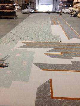 tapijt raadzaal rotterdam