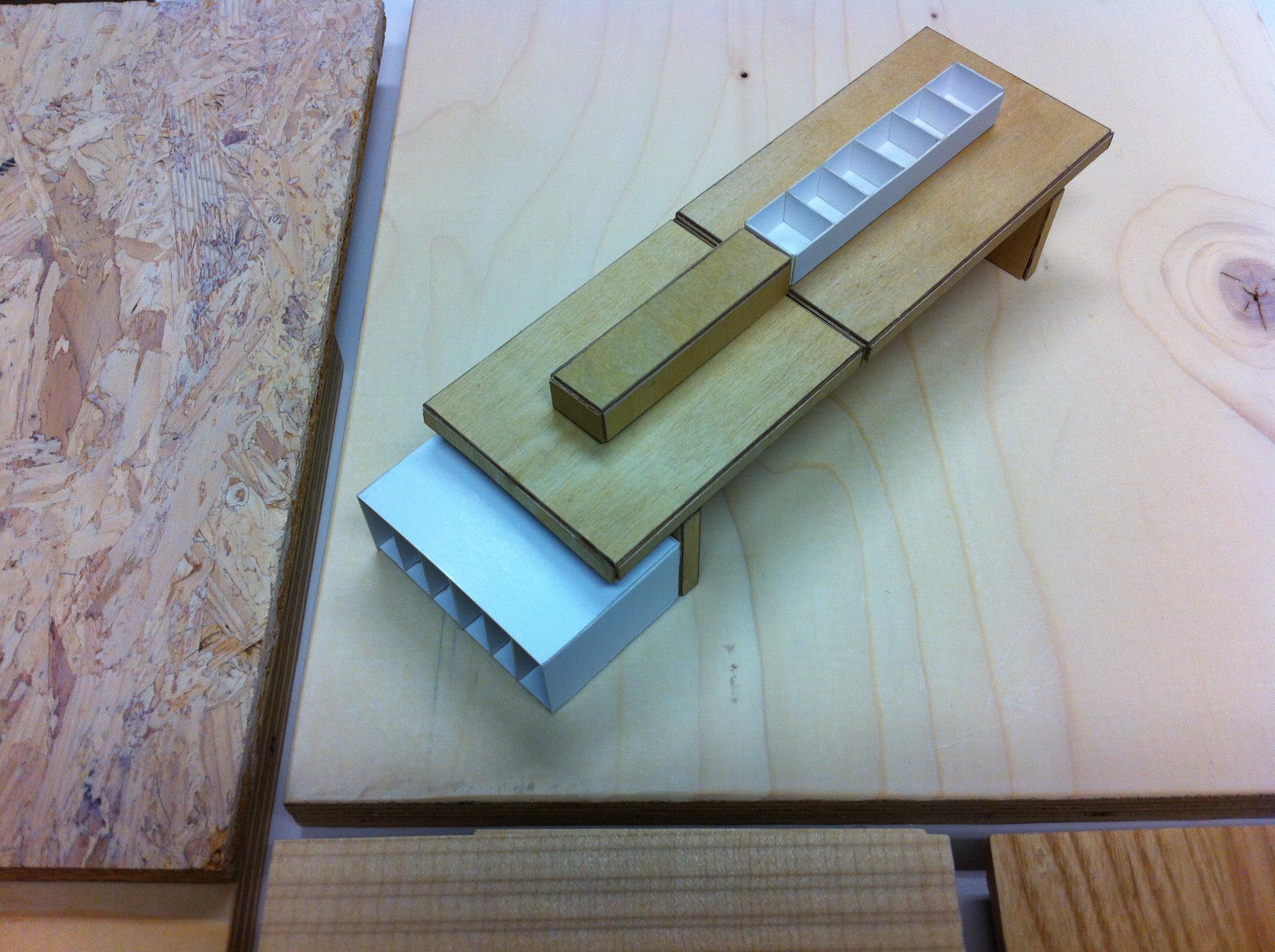 hout display 2 - Bibliotheek Ligne Sittard