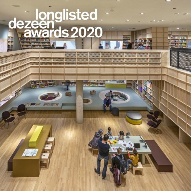 Forum Groningen longlist Dezeen 2020 - pers/prijs