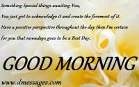 Good Morning Msg
