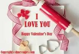 Happy valentine day sms for girlfriend
