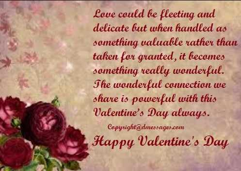 Sweet valentines day quotes