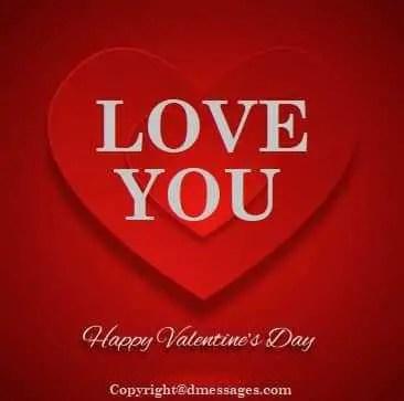 Valentine best sms