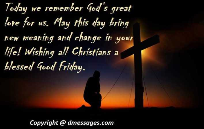 good friday greetings wishes