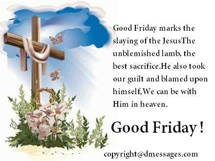 good friday wishes 2020