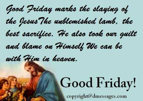 good friday wishes quotes