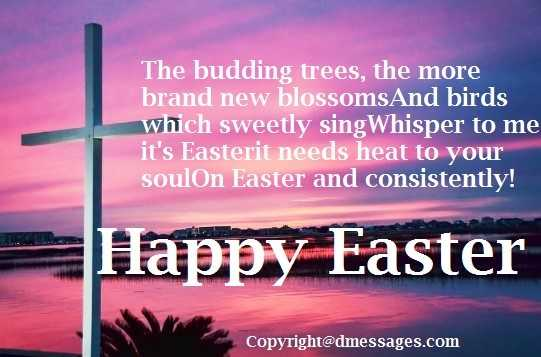 happy easter greetings message