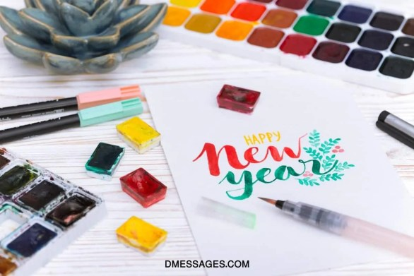 Happy New Year Wishes For Cards