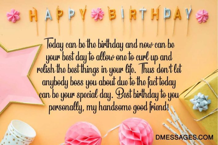 Happy Birthday Wishes for a Guy Friend