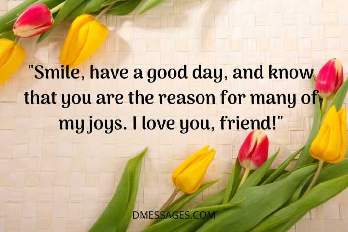 cute good morning quotes for friends