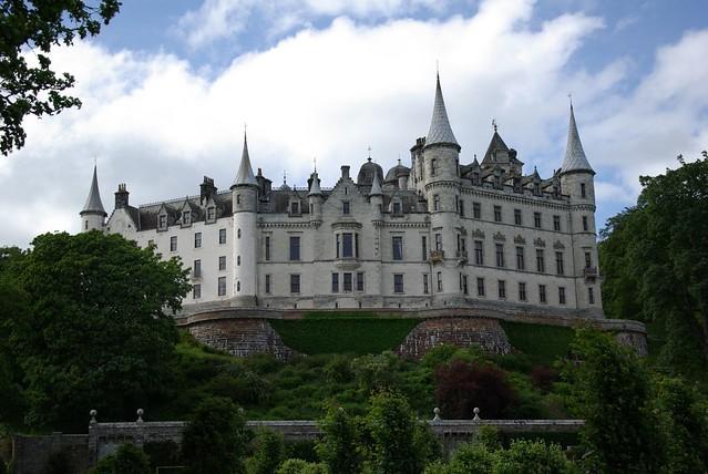 a scottish castle