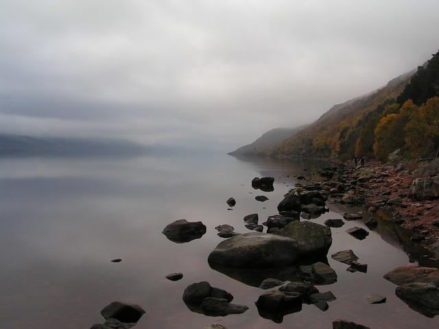 morning on a loch