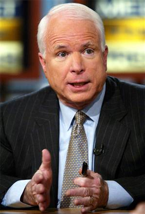 John McCain is simply upset that the Hate Crime Bill does not cover attacks against the elderly.