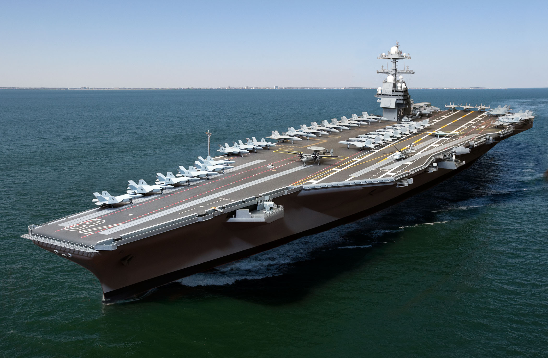 Image result for gerald r ford aircraft carrier free images