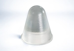Conical self adhesive bumper