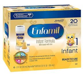 Baby Formula Lawsuits filed against Similac, Enfamil Makers