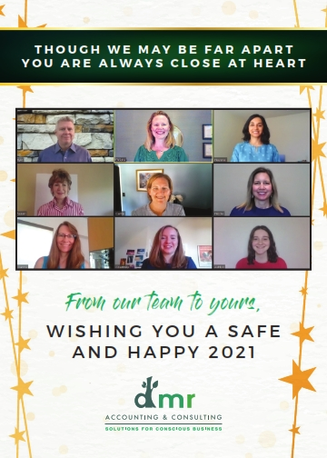 Wishing You a Safe and Happy 2021