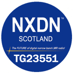 NXDN SCOTLAND LOGO FOR TG23551