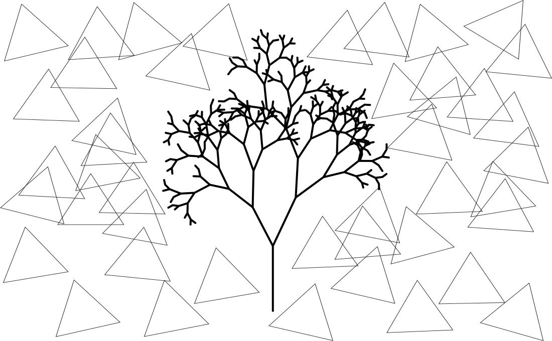 Árbol representando una jerarquía.