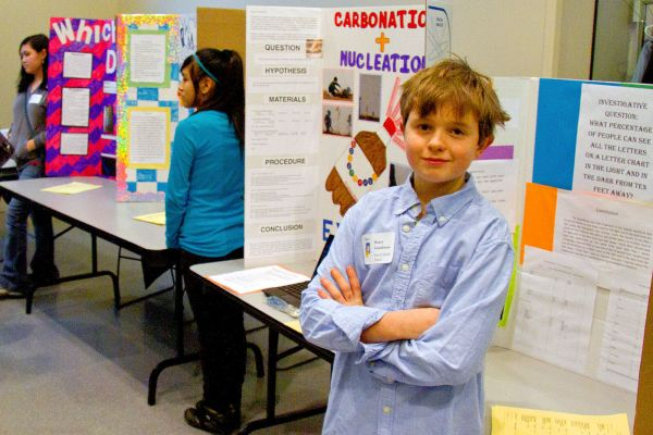 Middle School Student Projects on Display at Annual
