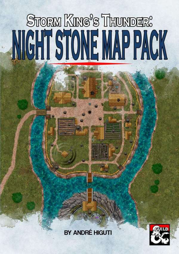 Storm King's Thunder: Nightstone Map Pack - Dungeon ...