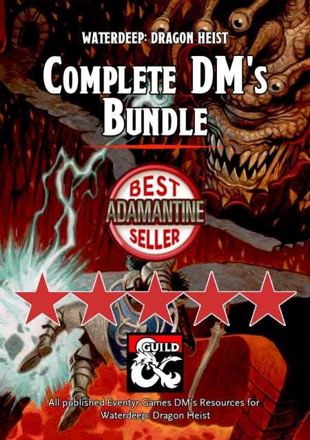 Waterdeep: Dragon Heist DM's Resources