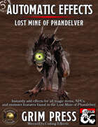 5E Automatic Effects - Lost Mine of Phandelver (Fantasy Grounds)