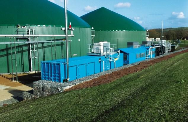 DMT biogas upgrading
