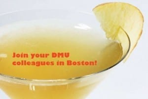Join your DMU colleagues in Boston!