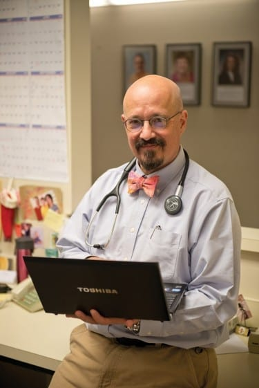 Bret Ripley, D.O., chair of Family Medicine