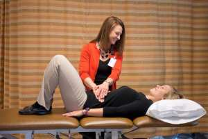 Physical therapists, like Kari Smith, offer services that can enhance patients' mobility and quality of life.