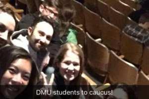 DMU students caucus