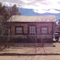 A beat-up old shack in Arizona