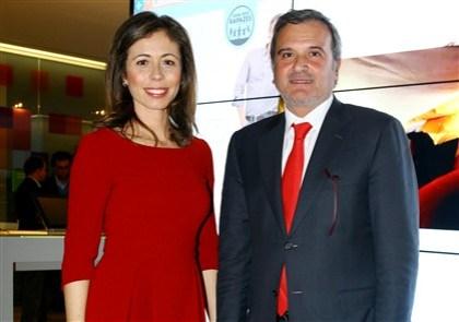O casal esteve presente na apresentação do site 'Casa dos rapazes'