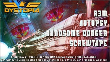 Dystopia Takeover Flyer