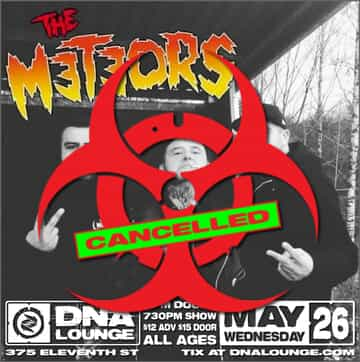 The Meteors Flyer
