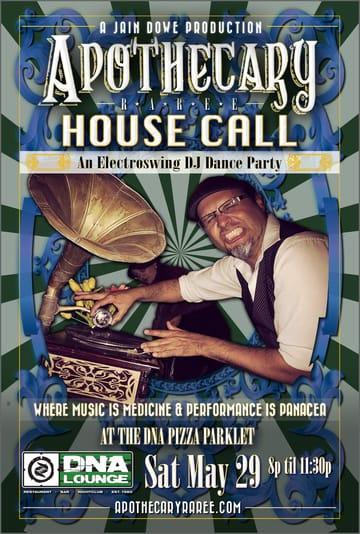 Apothecary Raree: House Call Flyer