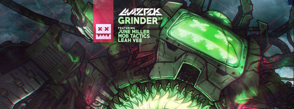 """Maztek """"Grinder"""" EP (Eatbrain Records)"""