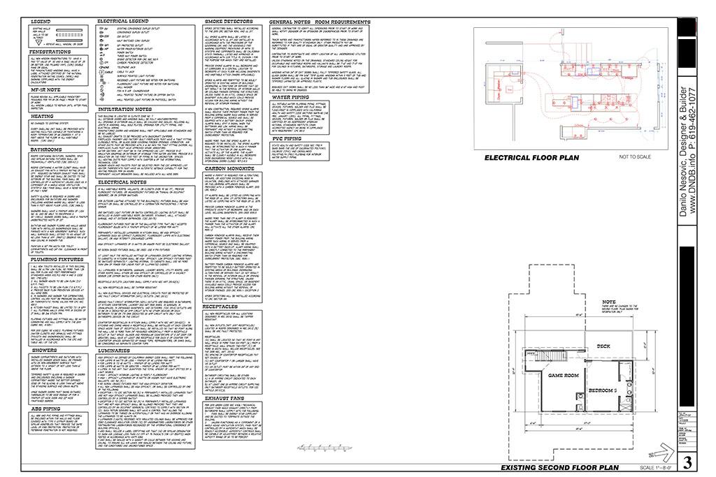 Design danilo nesovic designer builder kitchen for How to make building plans for permit