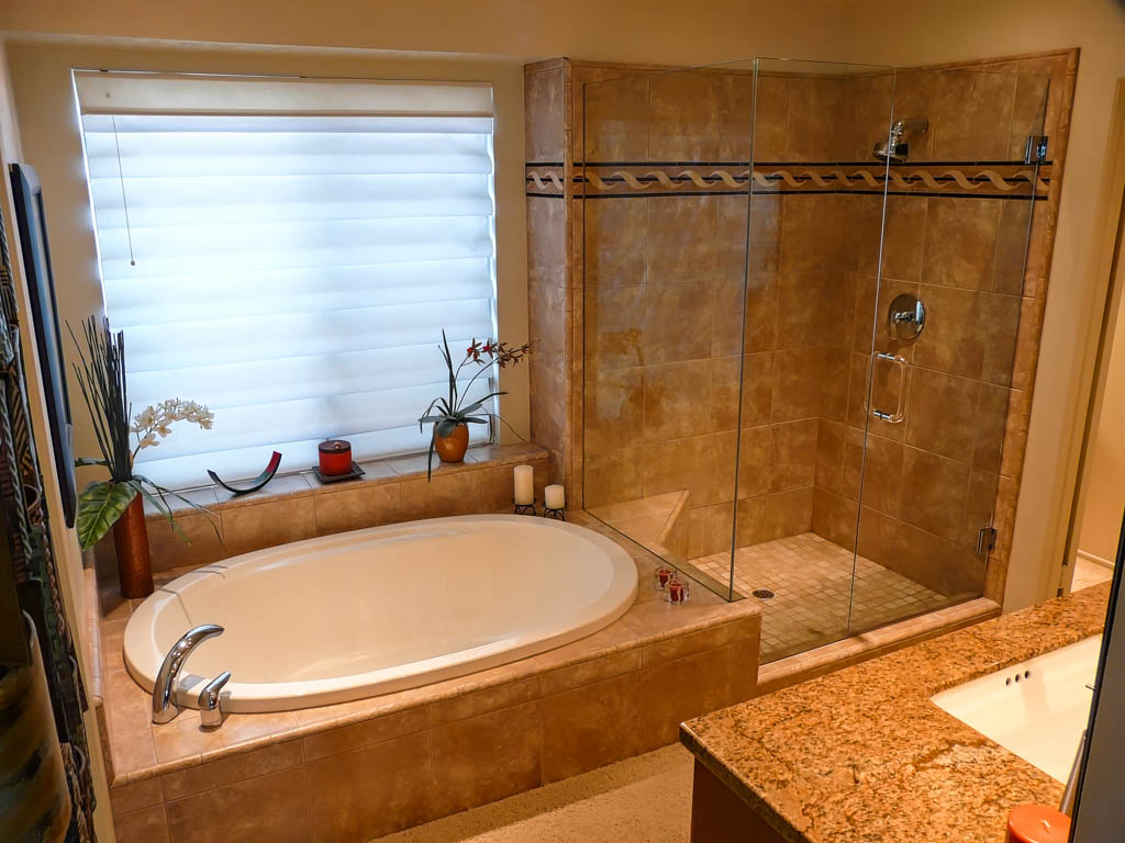 Contemporary Master Bath Makeover Danilo Nesovic