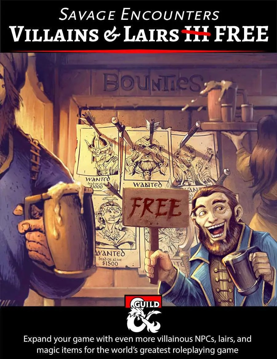 Download Villains & Lairs III supplement for free - D&D Tomb