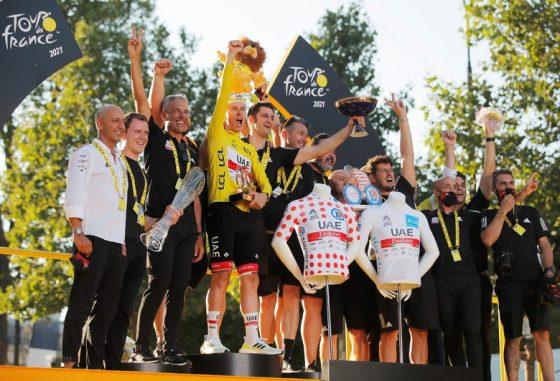 Новият канибал: започва ли ерата на Тадеус Погачар в Тур дьо Франс
