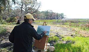 Painting the Tom Yawkey Wildlife Center
