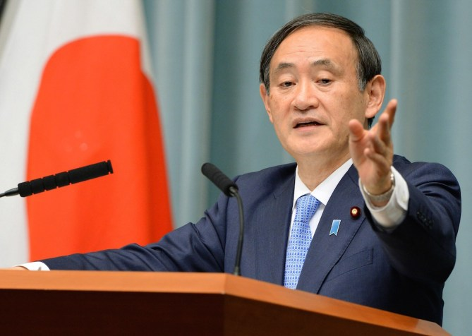 Yoshihide Suga leads a large field of Abe's successor hopefuls in Japan - DNT