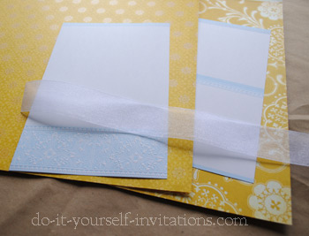 Blank Wedding Invitation Kits Plumegiant Invitations