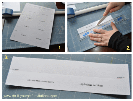 Print Your Own Wedding Place Cards Diy Templates