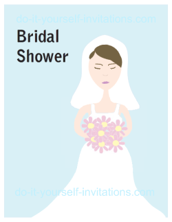 Bridal Shower Free Printable Game Card