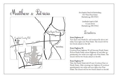 Wedding invitation map creator paperinvite printable maps for wedding invitation orderecigsjuice info stopboris Images